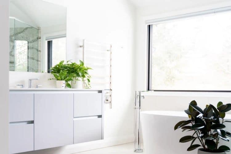 fruehling badezimmer